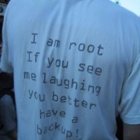 T(shirt de geek (version root)