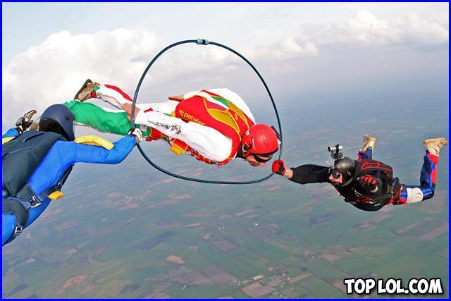 On s'amuse en parachute